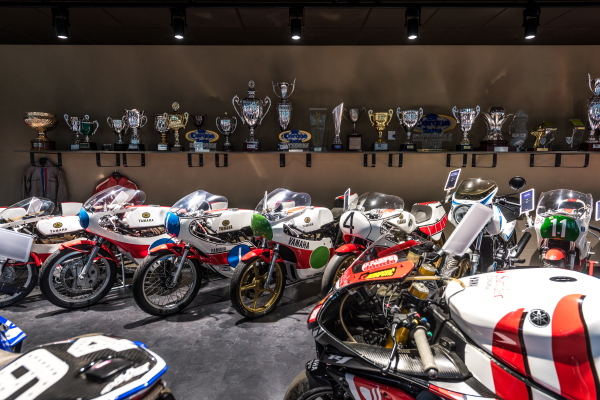 Collection Moto  Yamaha Motor Europe Collection Hall