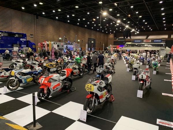 Salon du 2 roues à Lyon : Plus de 1000 motos anciennes !