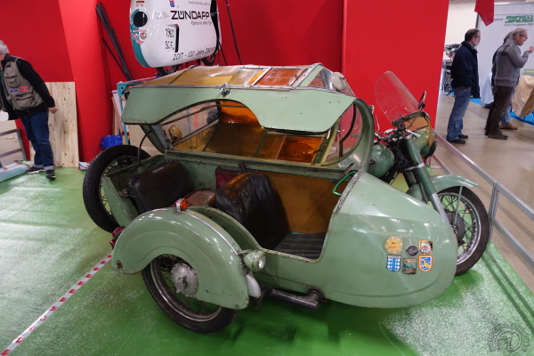 Zündapp 600 KS side Steib biplace-18