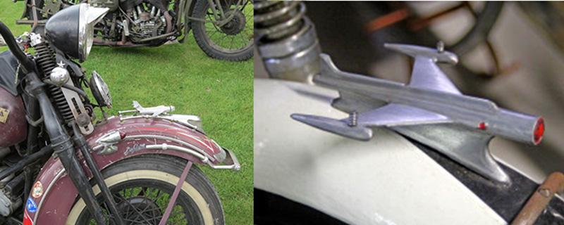 avion Harley et fusée avion