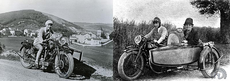 Sur une Griffon 500 toujours vers 1930