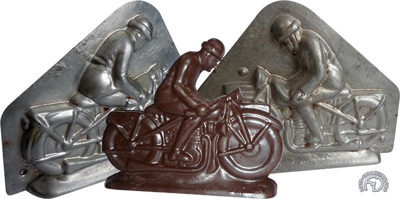 5 € pour les motos en chocolat belge.