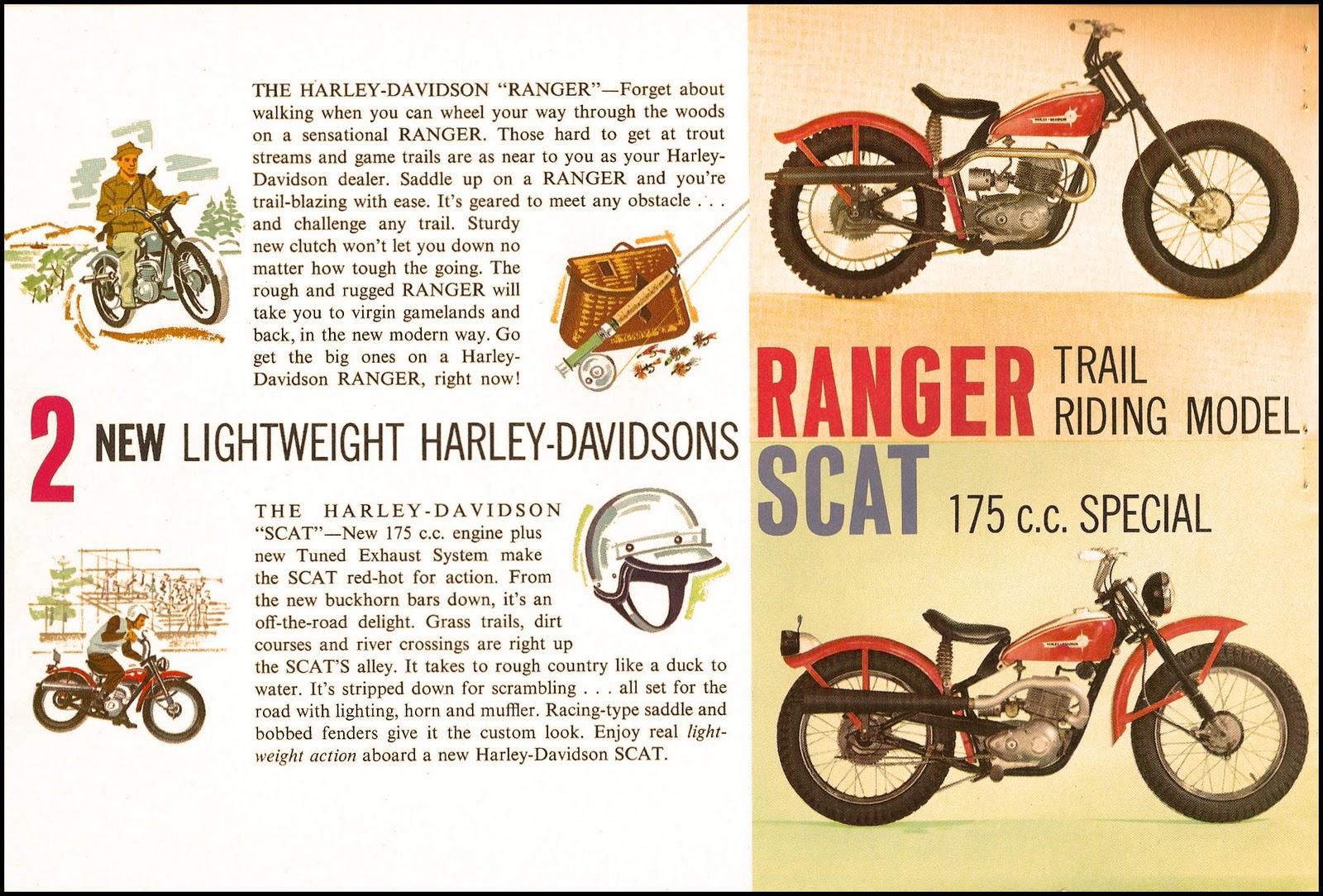 Quel style… Harley y a quand même gagné par la suite en rachetant Aermacchi !