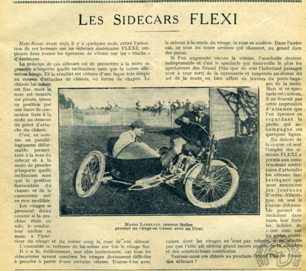 3 roues sur l'angle Side-Flexi-MR1922-140