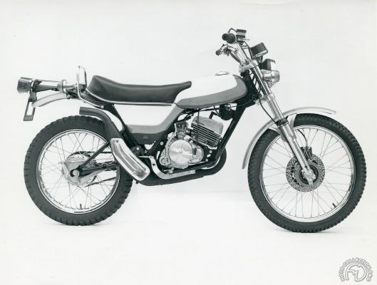 Etude de NVT sur base moteur de Suzuki TS 125.