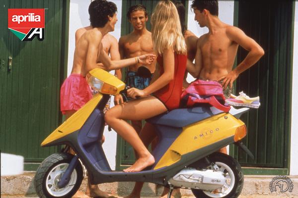 Aprilia Amico  motocyclette motorrad motorcycle vintage classic classique scooter roller moto scooter