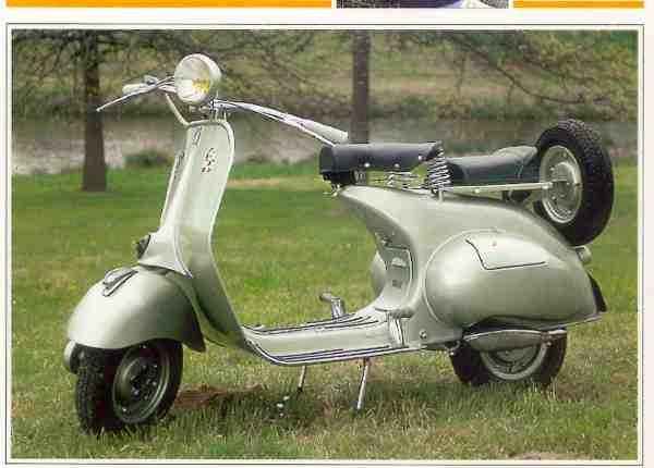 Vespa (Piaggio)  ACMA motocyclette motorrad motorcycle vintage classic classique scooter roller moto scooter