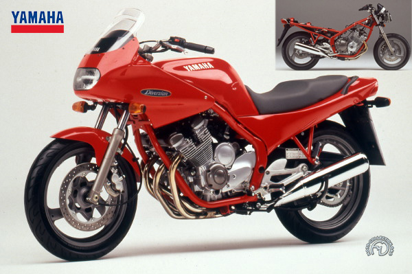 Yamaha XJ  S / N Diversion motocyclette motorrad motorcycle vintage classic classique scooter roller moto scooter