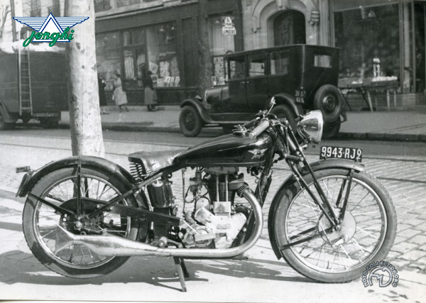Collection Moto Jonghi  350 1932-