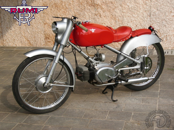Rumi Sport & Super Sport motocyclette motorrad motorcycle vintage classic classique scooter roller moto scooter