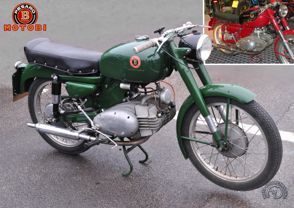 Motobi Spring Lasting Gran Sport motocyclette motorrad motorcycle vintage classic classique scooter roller moto scooter