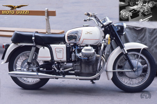 Collection Moto Moto Guzzi 700 1968-1969