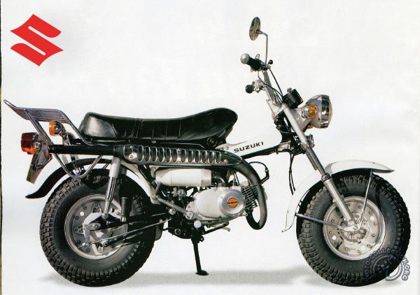 Suzuki RV Van-Van motocyclette motorrad motorcycle vintage classic classique scooter roller moto scooter