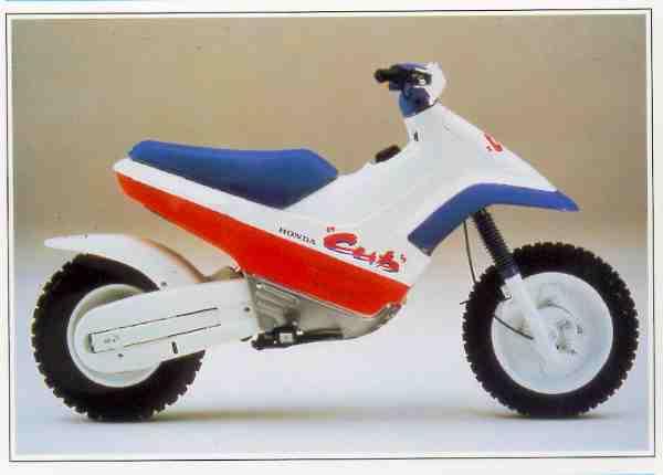 Honda EZ 9 & Ezsnow (Easy Snow) motocyclette motorrad motorcycle vintage classic classique scooter roller moto scooter