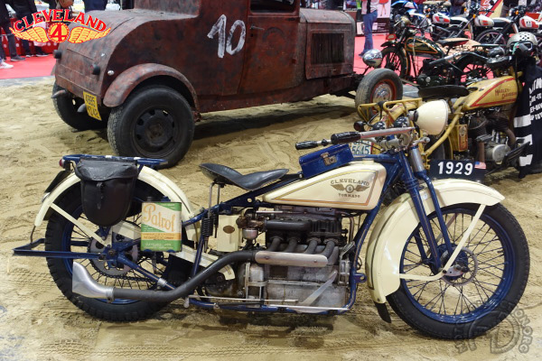 Cleveland Tornado motocyclette motorrad motorcycle vintage classic classique scooter roller moto scooter