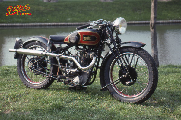 Collection Moto Gillet Herstal 500 1936-