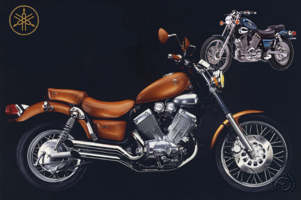 Yamaha XV &  XV S Virago motocyclette motorrad motorcycle vintage classic classique scooter roller moto scooter