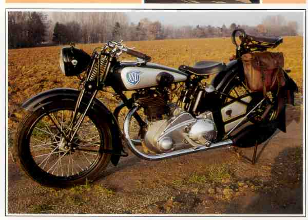 NSU OSL motocyclette motorrad motorcycle vintage classic classique scooter roller moto scooter