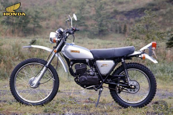Honda MT Elsinore motocyclette motorrad motorcycle vintage classic classique scooter roller moto scooter