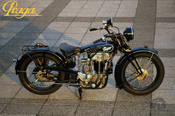 Praga  motocyclette motorrad motorcycle vintage classic classique scooter roller moto scooter