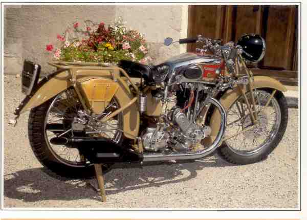 Collection Moto Motosacoche France 350 1936-