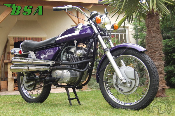 BSA Fury motocyclette motorrad motorcycle vintage classic classique scooter roller moto scooter
