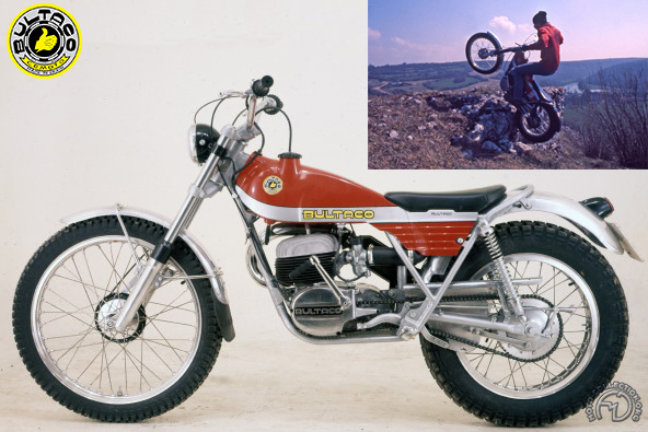 Bultaco Sherpa T  motocyclette motorrad motorcycle vintage classic classique scooter roller moto scooter