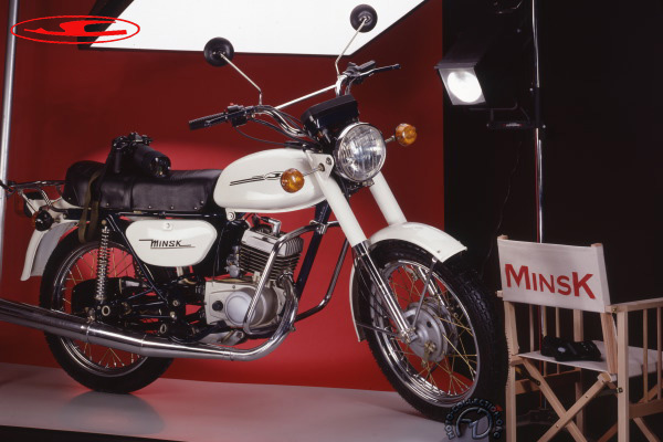Minsk MMVZ motocyclette motorrad motorcycle vintage classic classique scooter roller moto scooter