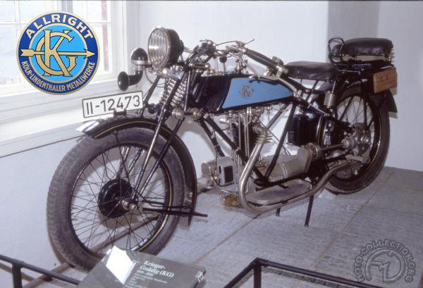 Allright - Krieger Gnadig KG Sport motocyclette motorrad motorcycle vintage classic classique scooter roller moto scooter