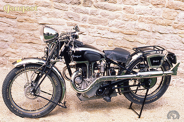 Collection Moto Peugeot 350 1938-