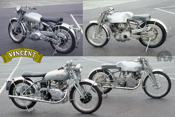 Vincent HRD Grey Flash motocyclette motorrad motorcycle vintage classic classique scooter roller moto scooter