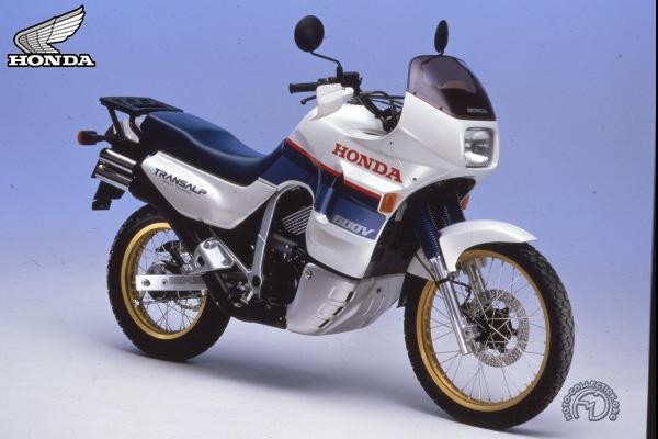 Honda XL V Transalp motocyclette motorrad motorcycle vintage classic classique scooter roller moto scooter