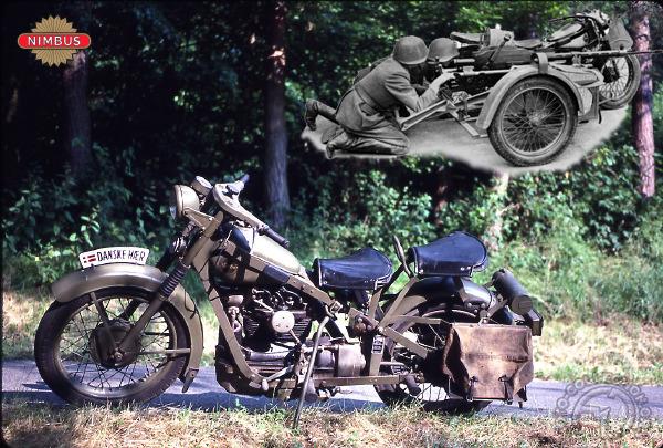 Nimbus Cs type armée motocyclette motorrad motorcycle vintage classic classique scooter roller moto scooter