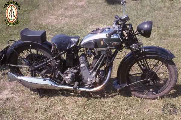 BSA S 32/8 Sloper motocyclette motorrad motorcycle vintage classic classique scooter roller moto scooter