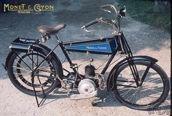 Monet Goyon Z motocyclette motorrad motorcycle vintage classic classique scooter roller moto scooter