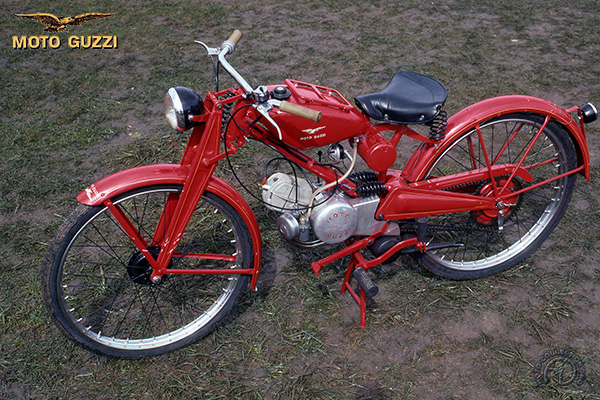 Moto Guzzi Moto leggera motocyclette motorrad motorcycle vintage classic classique scooter roller moto scooter