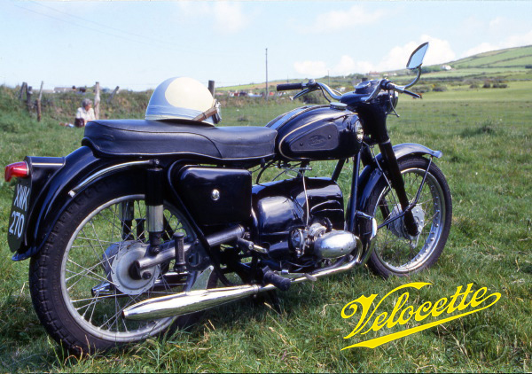 Velocette Valiant motocyclette motorrad motorcycle vintage classic classique scooter roller moto scooter