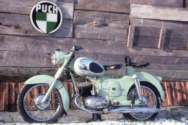 Collection Moto Puch 125 1953-1967