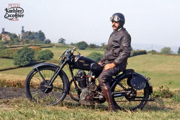Koehler Escoffier Ch. de F. Marcel Chateau motocyclette motorrad motorcycle vintage classic classique scooter roller moto scooter
