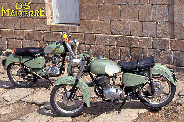 DS Malterre M 13 Sport et M9 motocyclette motorrad motorcycle vintage classic classique scooter roller moto scooter