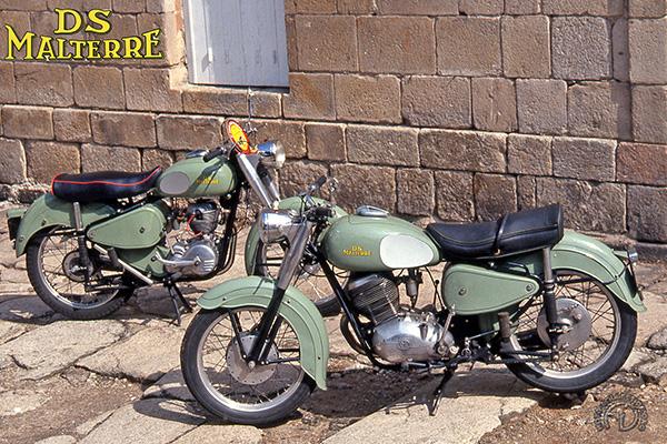 DS Malterre M 13 Sport et M9 motocyclette motorrad motorcycle vintage classic classique scooter roller moto scooter