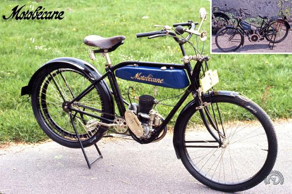 Motobécane (Motoconfort) MB 1 (type A) motocyclette motorrad motorcycle vintage classic classique scooter roller moto scooter