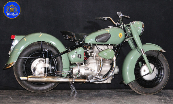 Collection Moto Sunbeam 500 1950-1957