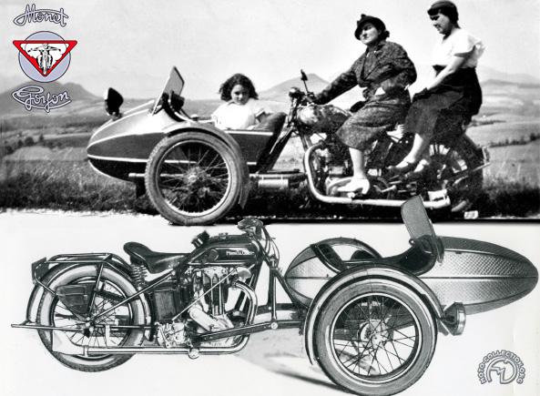 Monet Goyon 500 H Tri-Moto-Bert motocyclette motorrad motorcycle vintage classic classique scooter roller moto scooter
