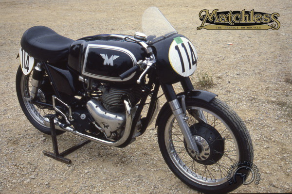 Collection Moto Matchless 500 1953-
