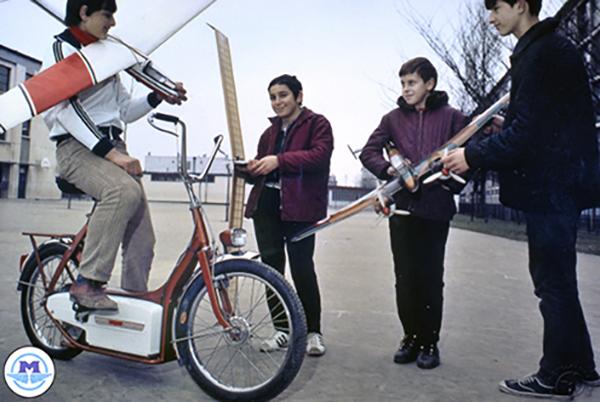 Motobécane - Motoconfort prototype électrique motocyclette motorrad motorcycle vintage classic classique scooter roller moto scooter