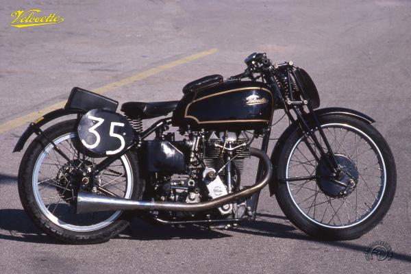 Velocette KTT Mk 7 TT '38 motocyclette motorrad motorcycle vintage classic classique scooter roller moto scooter