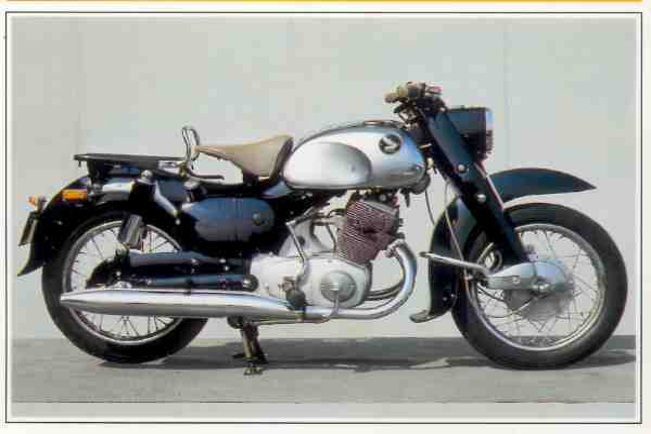 Honda C 70 Dream motocyclette motorrad motorcycle vintage classic classique scooter roller moto scooter