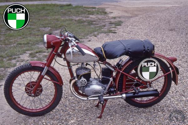 Puch TS Tour du Monde - Monneret motocyclette motorrad motorcycle vintage classic classique scooter roller moto scooter