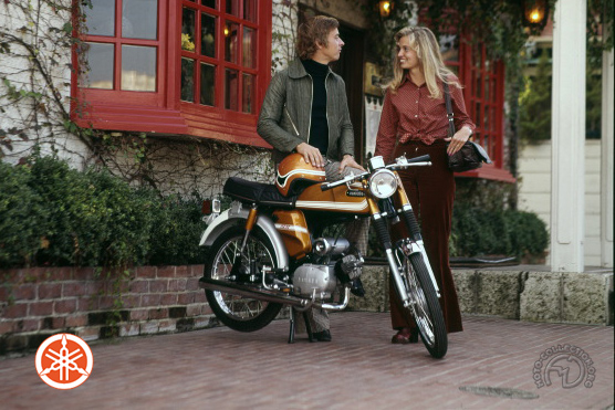 Yamaha SS  (FS 1) motocyclette motorrad motorcycle vintage classic classique scooter roller moto scooter